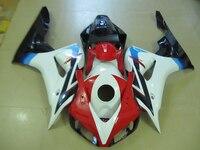 Литья под давлением обтекателя комплект для Honda CBR1000RR 2006 2007 красный белый черный обтекатели комплект CBR 1000RR 06 07 ot14