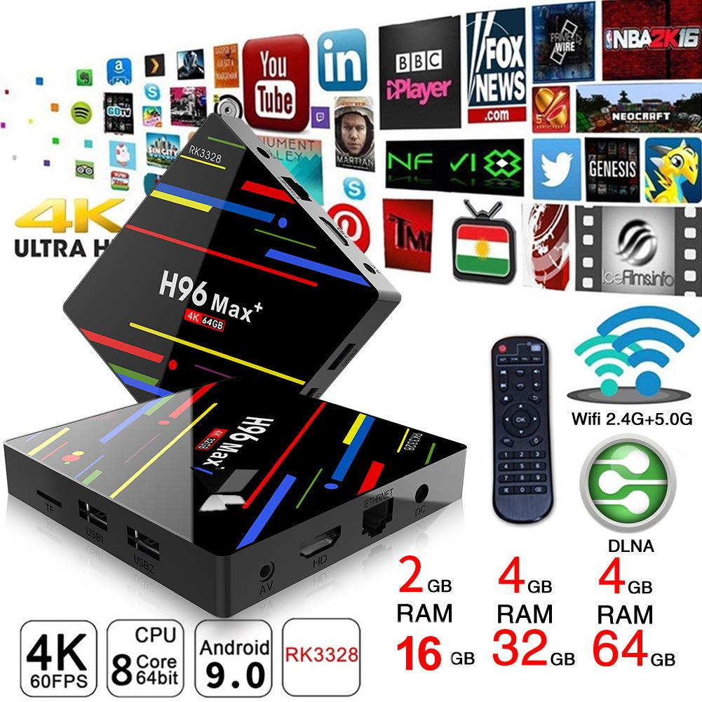 Smart TV Box Set  Android 9.0 4K 3D 4GB RAM USB3.0 2.4G/5GZ Top Boxdmi Entertainment Home Living Wifi  Androidbox Mediaplayer TVSmart TV Box Set  Android 9.0 4K 3D 4GB RAM USB3.0 2.4G/5GZ Top Boxdmi Entertainment Home Living Wifi  Androidbox Mediaplayer TV