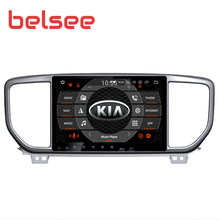 Belsee for Kia Sportage 2019 Android 9.0 Car Radio IPS Screen 8 Core 4GB 64GB 2 Din Stereo Audio Autoradio GPS Navigation Unit(China)