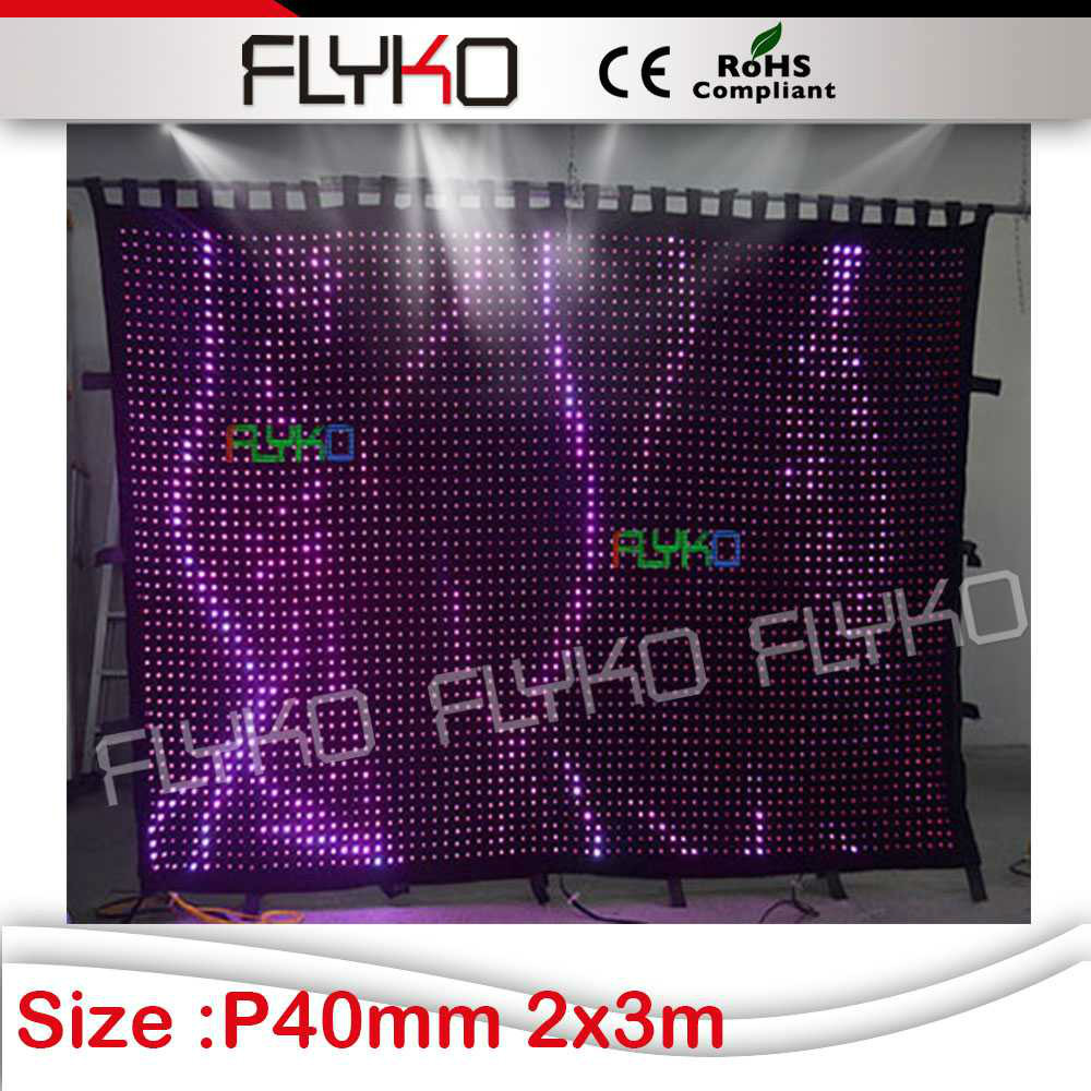 alibaba express new product innovative flexible led curtain light screen flightcase shipping