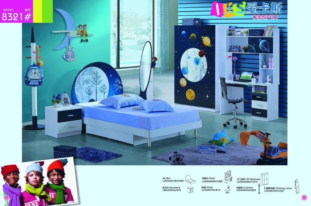 2018 Förderung Verkauf De Maquillage Nachttisch 2 Sets Jungen Und Mädchen  Kinder Kindergarten Möbel Schlafzimmer Set