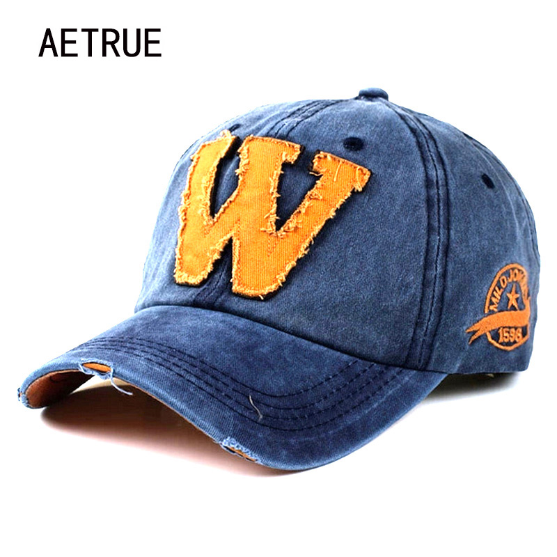2018 Snapback Baseball Cap Brand Hip Hop Snapback Caps Hats For Men Women Washed Bone Letter Gorras Casquette Chapeu Homme Hat