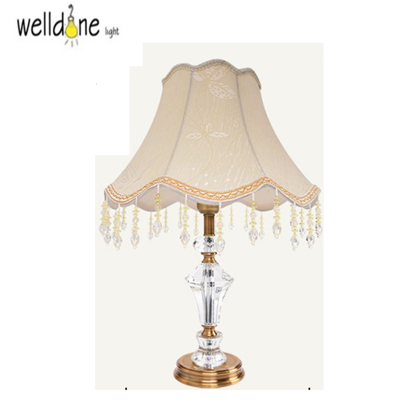 Luxary classic American bedroom table light foyer European ...