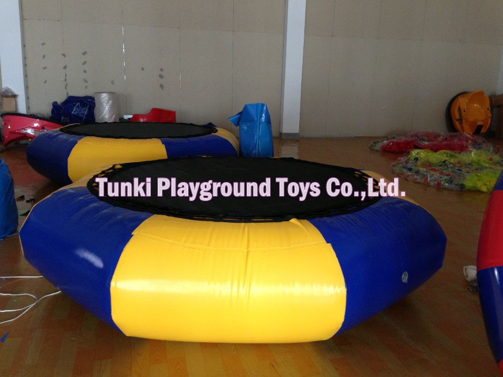 inflatable water trampoline jumperinflatable water trampoline jumper