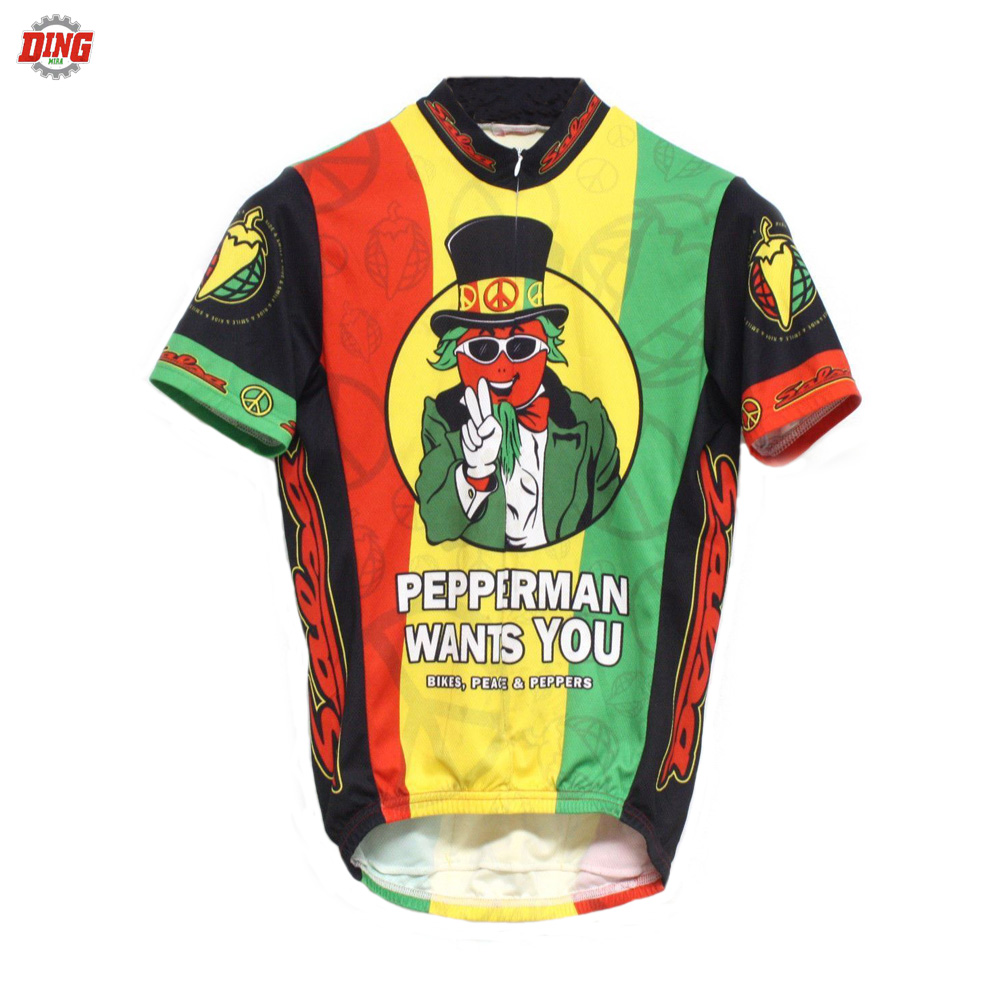NEW Funny men Short sleeve cycling jersey ropa Ciclismo top Racing team cycling clothing MTB Bicycle equipment sports Maillot
