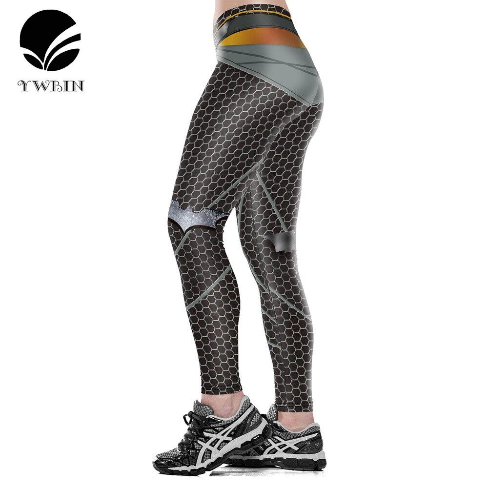 Prix pour Nouveau style 3D numérique impression femmes de yoga Leggings Serré sport pantalon Polyester mince yoga pantalon Sexy sport leggings plus la taille