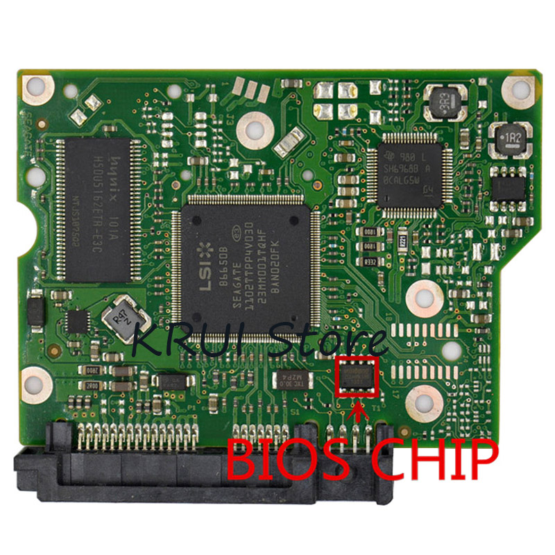 Tested ST2000DL003 ST2000DM001 HDD PCB FOR Seagate//Board Number:100617465 REV B
