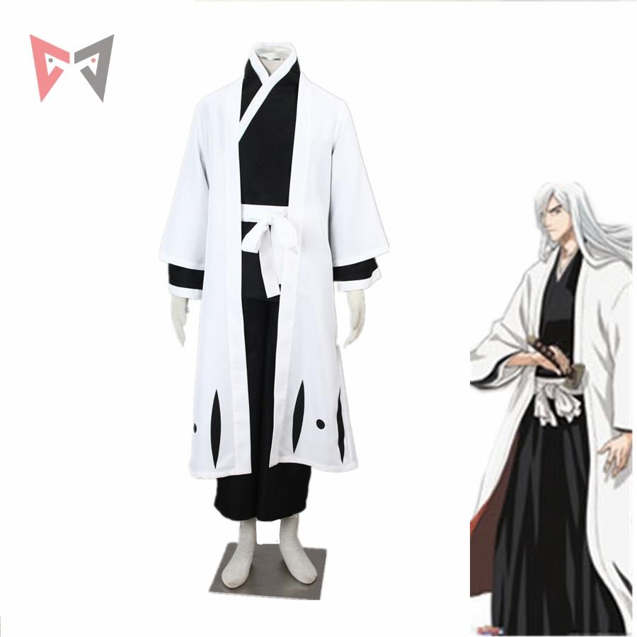 MMGG Bleach cosplay Jushiro Ukitake Cosplay costume Kimono Outfit