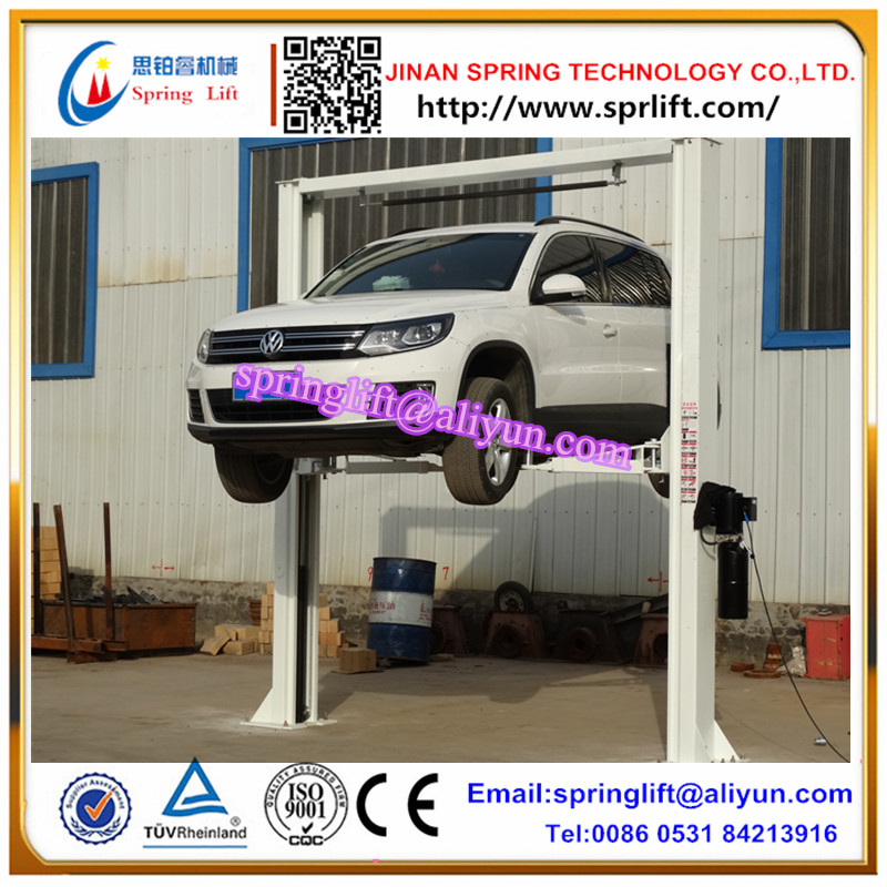 2017 4 Tons Gantry Two Column Car Lift Manual Lock Release 2 post