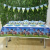 52pcs Pawed Patrol Party Supplies Plate Cup Flags Tablecloth Pawed Patrol Birthday Party Decoration Shower Favor