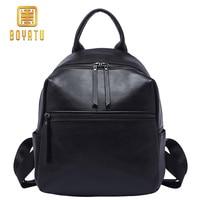 Genuine Leather Backpack Women