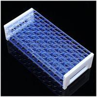 Kunststoff 3 Schichten Labor Reagenzglas Rack Halter Kreisel Rohr Stehen 50 Löcher, 16Mmx50 löcher