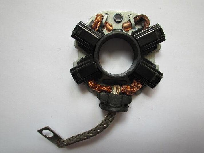 Titular escovas de carvão de partida para subaru mitsubishi outlander ex lancer ex motor de arranque (tamanho: 49mm)