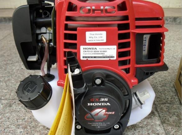 Aftermarket motor 4 tempos motor a gasolina de 4 tempos A Gasolina motor de cortador de escova 35.8cc GX35 motor CE Aprovado