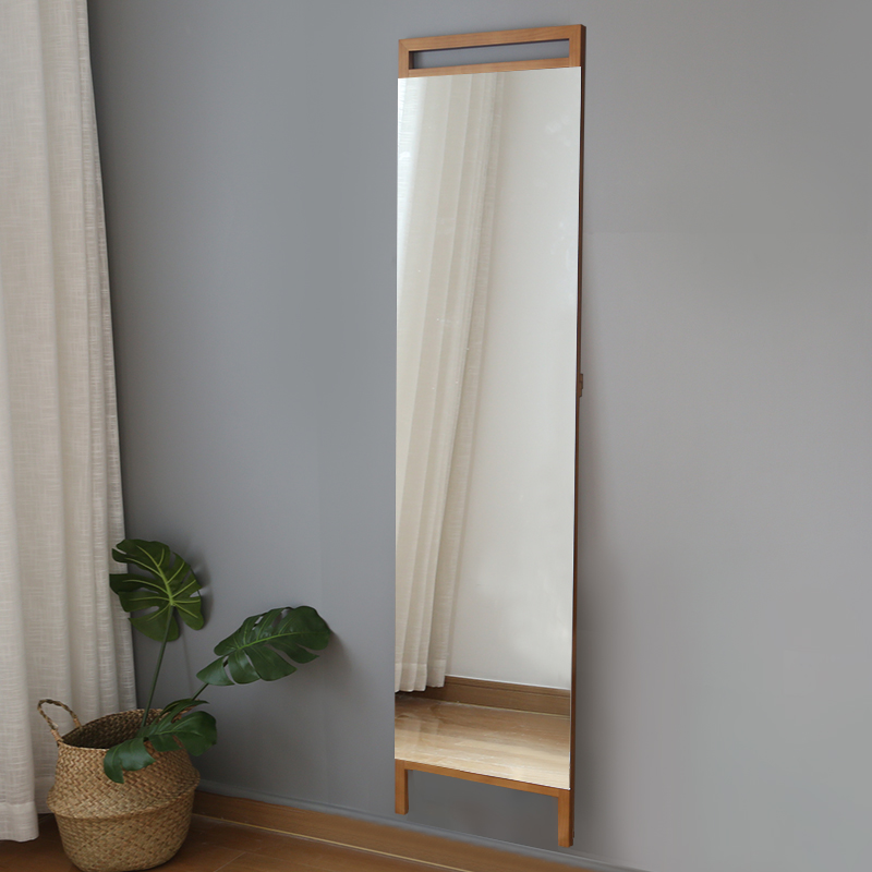 Solid wood dressing mirror Full length body dressing ...
