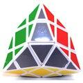 Plástico Cubo Mágico DianSheng 4 Esquina Blanco Venta Caliente Rompecabezas cubo mágico Twisty Puzzle Juguetes para Niños y Adultos