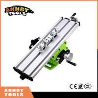 Mini Multifunctional Cross Working Table Milling Machine Compound Drilling Slide Table For Drilling Milling Machine Bench