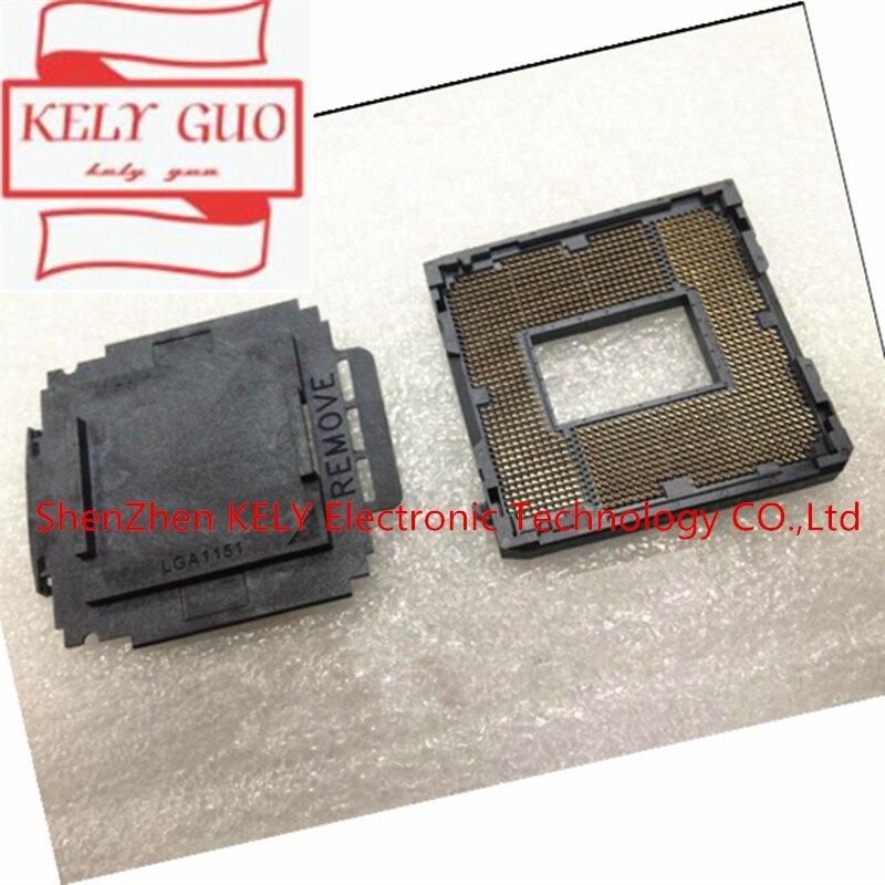 (1PCS)(3PCS)(5PCS)LGA 1151 LGA1151 Motherboard Repair Soldering BGA  Replacement CPU Socket with Tin Balls for Skylake Series