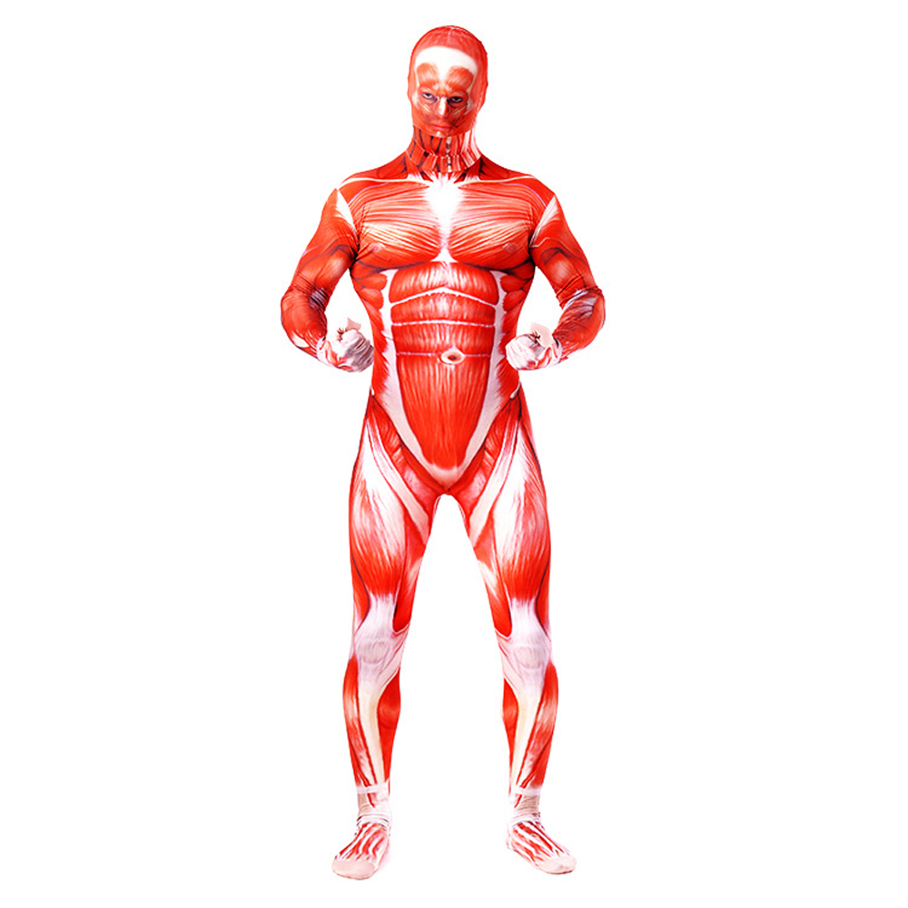 2019 Newest Attack On Titan Zentai Cosplay Costume For