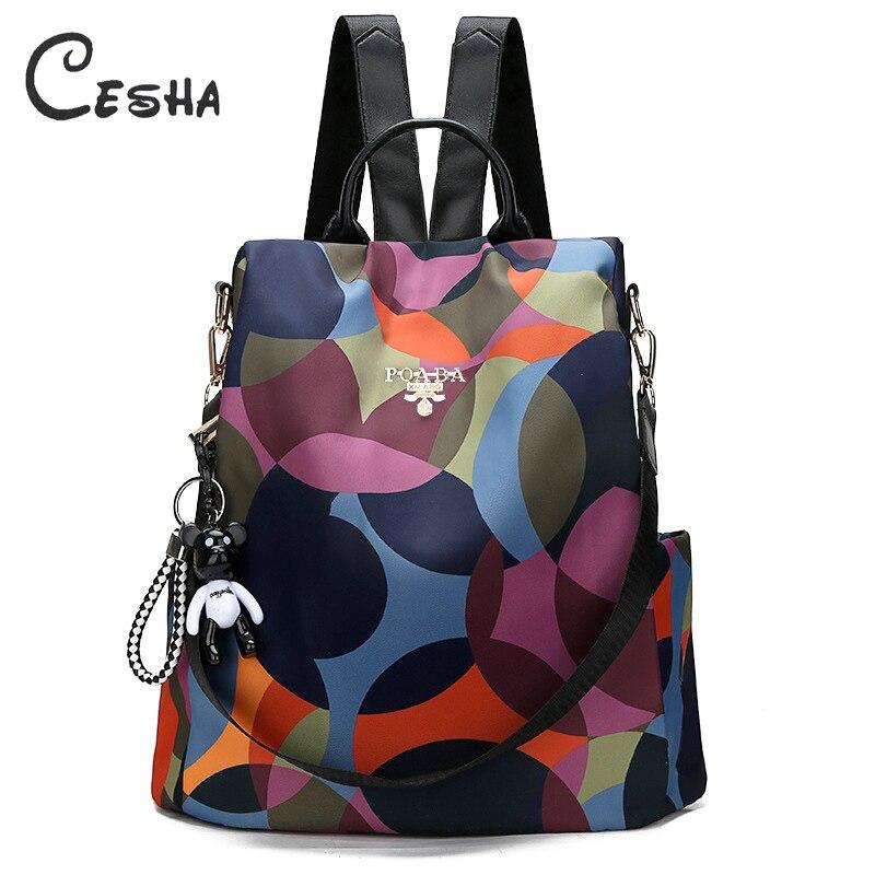 Schoolbag Backpack Mochila Oxford Anti-Theft Durable Waterproof Hot-Sale Fashion Sac