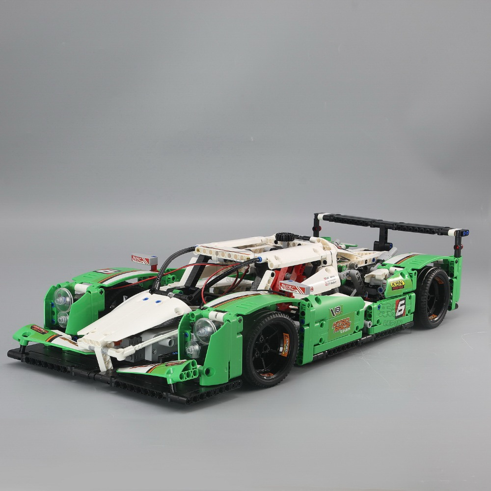 IN STOCK NEW 1249PCS LEPIN 20003 20003B The 24 hours Race Car Building Assembled Blocks Bricks Enlighten Toy 42039 for kids gift lepin 20003 technic series the 24 hours race car building assembled blocks bricks enlighten toy 42039