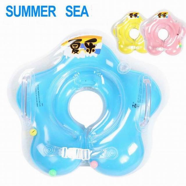 Kid Children Swimming Ring Seat Baby Inflatable Toy Circle Ring ...