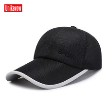 Unisex Baseball Caps Quick Dry Mesh Cap Light Hat Men Women Casual Summer