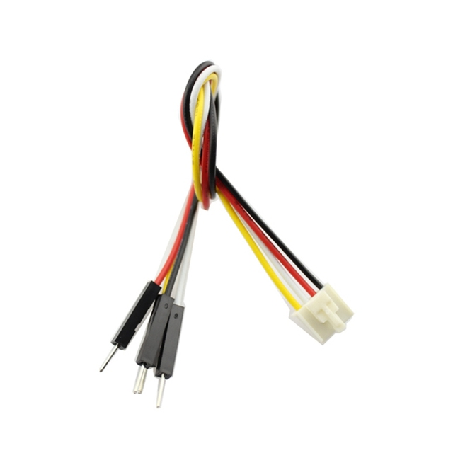 Elecrow Jumper Wire 4 Pin Crowtail to Male Splittable Jumper Cable Wire High Quality 5pcs/set