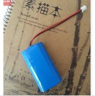 Varicore novo 7.4 v/8.4 v 2200 mah 18650 bateria de lítio + pcb capacidade suficiente para aspirador/alto-falante/câmera ues