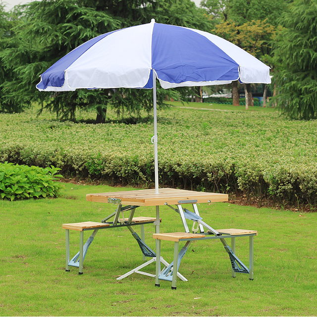 Pleasing Us 317 59 9 Off Easy Taking Portable Aluminium Alloy Fold Picnic Desk With Four Seats Hot Sale Occasional Table Beach Chair Leisure Chair In Garden Download Free Architecture Designs Scobabritishbridgeorg