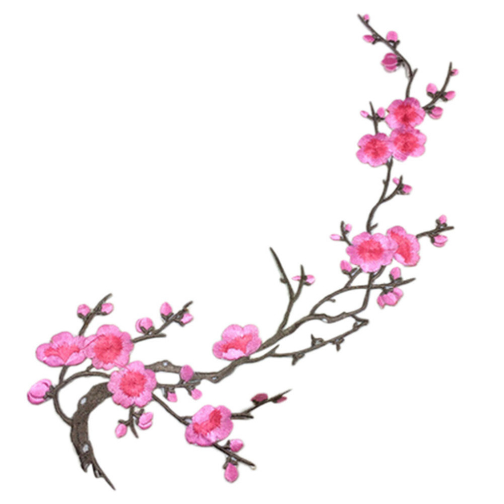 מוצר new plum blossom flower applique clothing