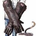 Анти укуса перчатки 60 см безопасности длинные перчатки высокого качества для поймать животных, как собаки, кошки, рептилий, змея Домашние Животные обучение кормления перчатки