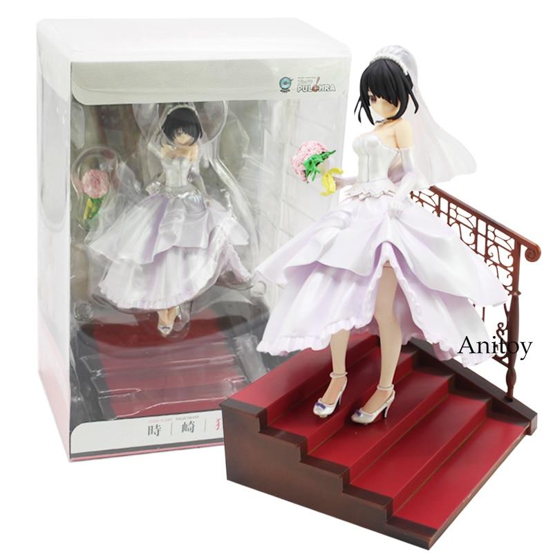 Date A Live Tokisaki Kurumi Wedding Ver. 1/7 Scale PVC Figure Collectible Model Toy 21cm григорий лепс парус live