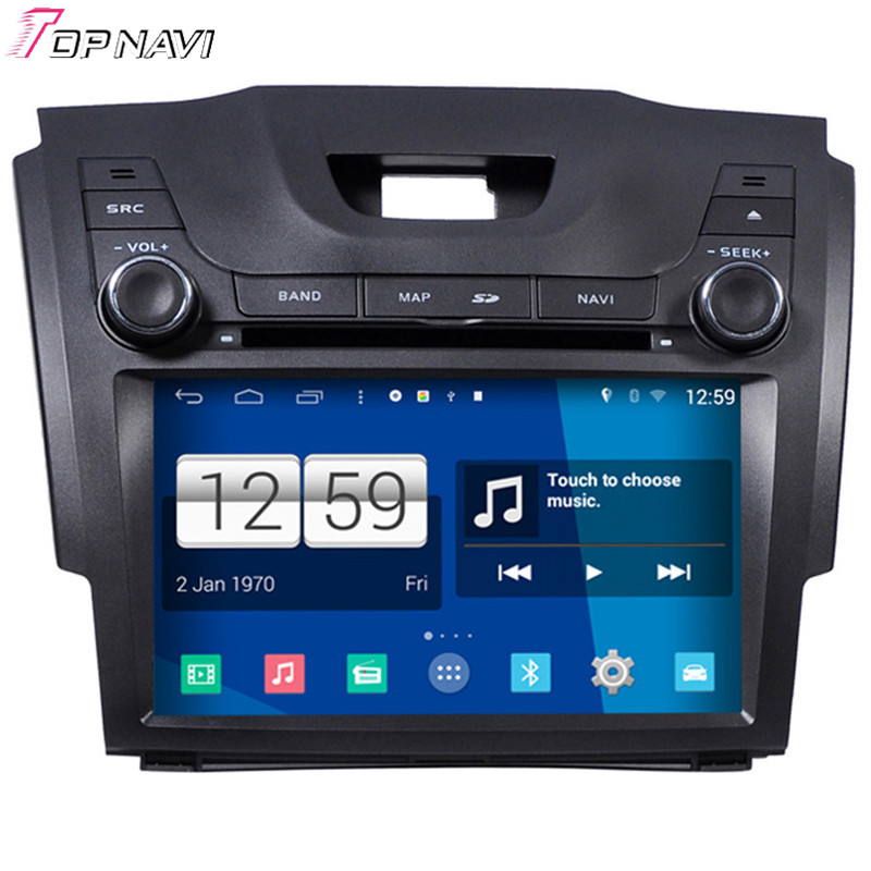 Newest S160 Quad Core Android 4.4 Car DVD Radio For S10 Colorado With16GB Flash Wifi Bluetooth GPS Mirror Link