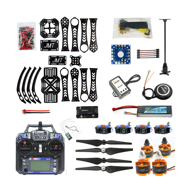 JMT Full set Quadcopoter DIY RC Drone Quadrocopter X4M360L Frame Kit with GPS APM 2 8