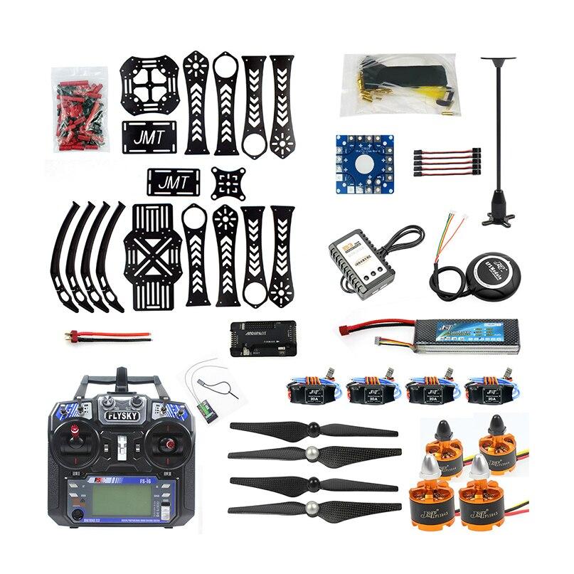 JMT pełny zestaw Quadcopoter DIY RC Drone quadcopter X4M360L zestaw ze szkieletem z GPS APM 2.8 RX FS i6 6CH nadajnik w Części i akcesoria od Zabawki i hobby na  Grupa 1