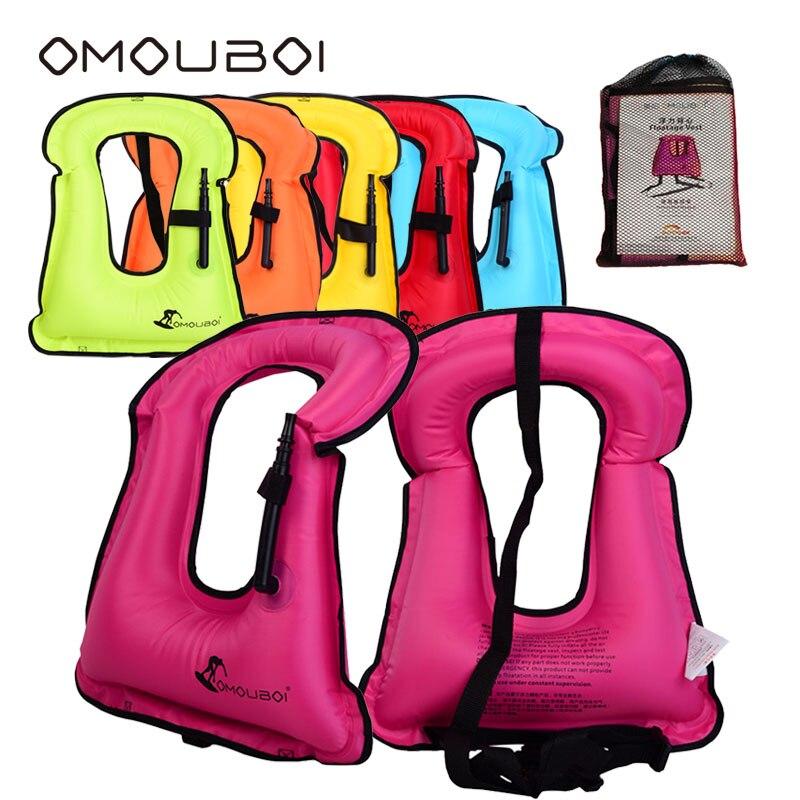OMOUBOI Snorkeling inflatable Vest lundrues Siguria e ujit Vjeshtë - Sporte ujore