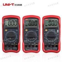 Original UNI T UT51 UT52 UT53 UT54 UT55 UT56 Digital Multimeter AC DC Voltage Current Resistance Capacitance LCD Display On Sale