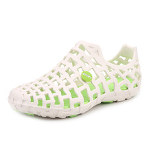 ZYYZYM Mens Sandals Summer Casual Unisex Hollow Jelly Breathable Garden Shoes men Beach Tourism Sandle Low Price
