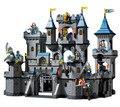 Строительный блок комплект просвещения 1023 просвещайте средневековый замок льва рыцарь модель коляски игрушки для детей , совместимых с Legoe