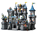Building Block Set iluminai 1023 iluminai leão castelo Medieval cavaleiro modelo de carro brinquedos para crianças compatíveis com Legoe