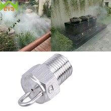 "WCIC Misting Spray Nozzle 1/8"",3/16"" Brass Garden Fogging Water Sprayer Nozzle Sprinklers Misting System aspersor para irrigacao"