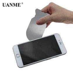 UANME 0,1mm Ultra Dünne Flexible Edelstahl Hebeln Spudger Zerlegen Karte für iPhone iPad Samsung Handy Reparatur Werkzeug