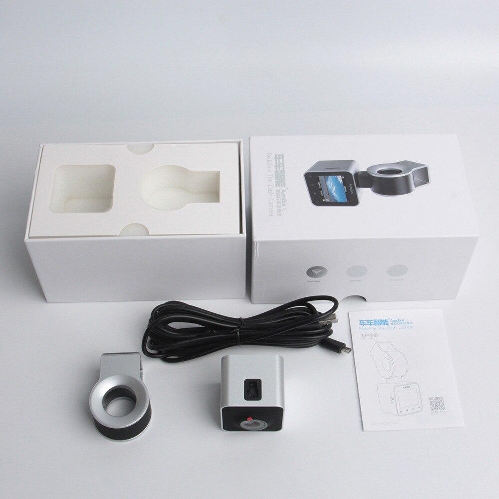 HD 1080 P Mini DVR Carro com Dashcam Novatek Gravador de Vídeo do carro da tela de toque LCD 96658 Night Vision com WDR via - 6