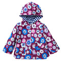 2017 Spring Girls Windbreaker Beautiful Little Baby Trench Cute Butterfly Jacket For Girls Clothes Infant Height 90-130 cm