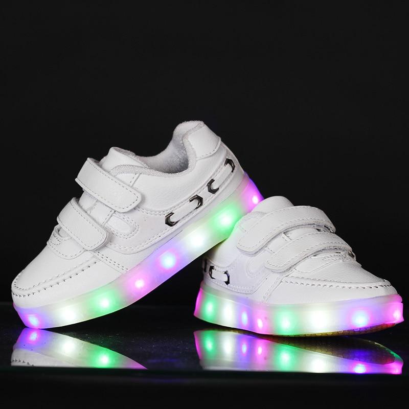 Lamp New Children Brand Baby Led Fashion Light Shoes Boy Kids fb76yg