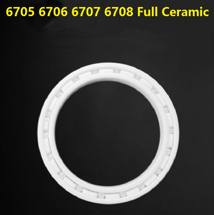 5pcs 6705 6706 6707 6708 ZrO2 Full Ceramic bearing 25x32x4 30x37x4 35x44x5 40x50x6 mm Zirconia Ceramic deep groove ball bearings 5pcs mr103 zro2 full ceramic ball bearing 3x10x4 mm miniature zirconia ceramic deep groove ball bearings 3 10 4 fishing reel