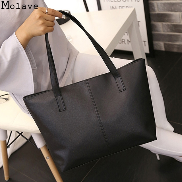 b5cd831f8c0 Molave Women Leather Shoulder Bag Luxury Handbags Ladies Bags Designer  Celebrity Tote Purse Travel Bag Large Handbags 11JULY31