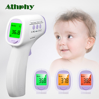 Athphy Thermometer Baby Gun Newest Digital Infrared Forhead Non contact Temperature Measurement Kid Adult Fever LCD Termometro