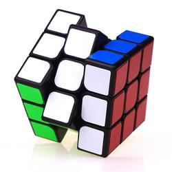 Классический красочный трехслойный магический куб 3х3х3, профессиональный скоростной куб для соревнований, без наклеек, головоломка, волшеб...